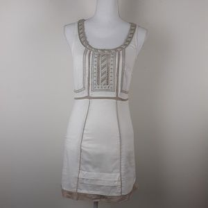 Free People Sleeveless Embroidered Dress